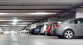 חניון תת קרקעי, צילום: מאור סוויסה