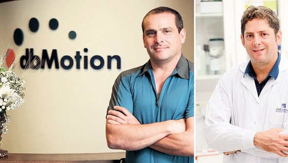 """ד""""ר ערן אלינב (מימין), שעל בסיס מחקרו קמה חברת DayTwo, ויו""""ר החברה יובל אופק. """"אילו רציתי לעשות רק כסף ואקזיט, לא הייתי הולך לתחום הבריאות"""""""