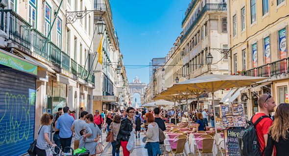 Downtown Lisbon. Photo: Shutterstock