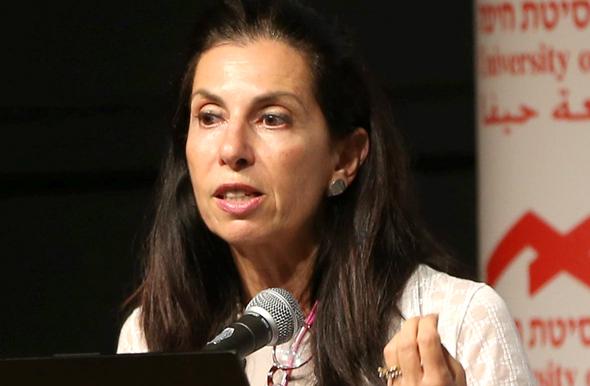 דורית סלינגר ב אוניברסיטת חיפה, צילום: אלעד גרשגורן