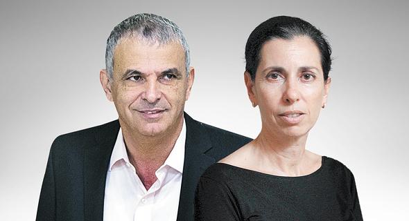 מימין המפקחת על הביטוח דורית סלינגר ושר האוצר משה כחלון, צילום: עמית שעל, יונתן זינדל/פלאש90