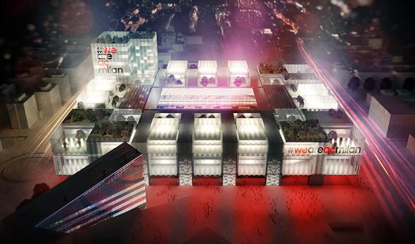 הדמיית האצטדיון החדש של מילאן. היה אמור להוציא את המועדון לדרך חדשה, הדמיה: acmilan-online.com