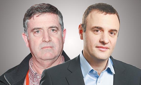 מימין: אלי מיזרוח ורביב ברוקמאייר, צילומים: אסנת רום, עמית שעל