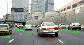 מובייל איי חיישני הרכב מובילאיי מכוניות