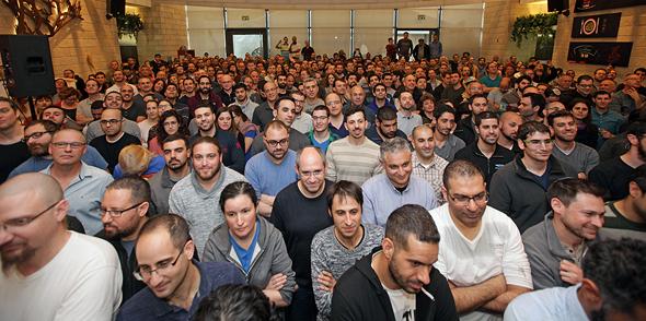 כנס מכירת מובילאיי עובדי החברה, צילום: רענן כהן