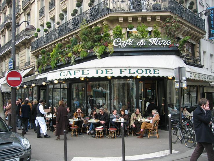 פריז, צרפת. 3,918 דולר לשבוע לזוג, צילום: cafedeflore