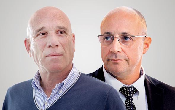 מימין גיא גיסין ו אילן בן דב, צילומים: אוראל כהן