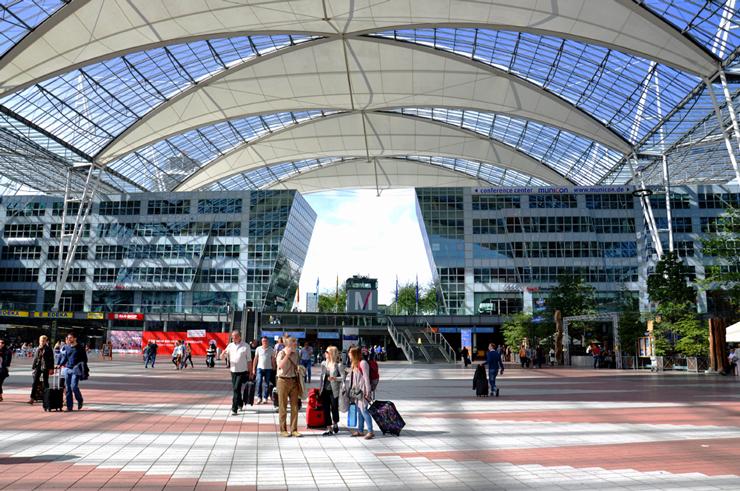 שדה התעופה מינכן, גרמניה, צילום: שאטרסטוק