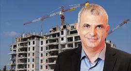 משה כחלון בנייה, צילום: אלעד גרשגורן