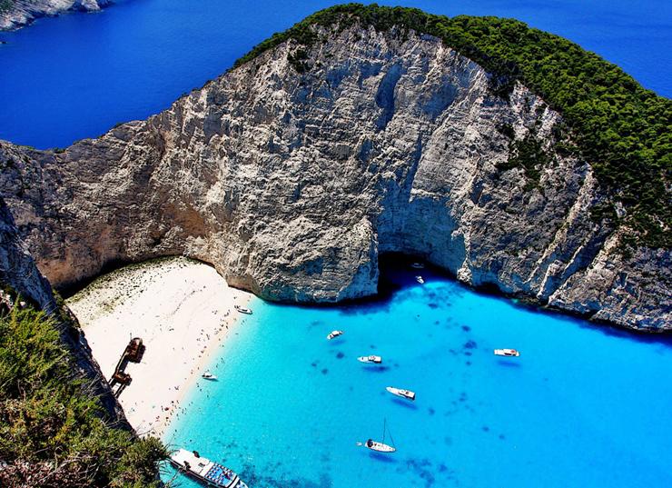 חוף נאבגיו, זקינתוס יוון