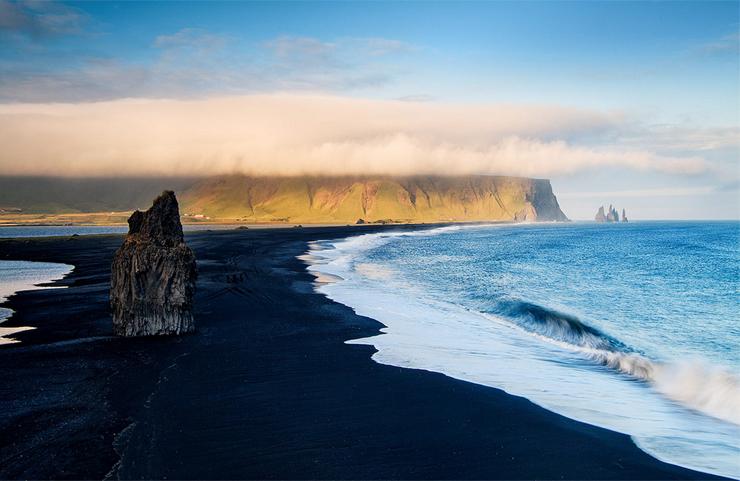 צוקי בזלת בויק, איסלנד