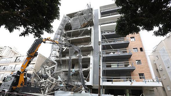 אתר בנייה מסוכן (ארכיון), צילום: שאול גולן