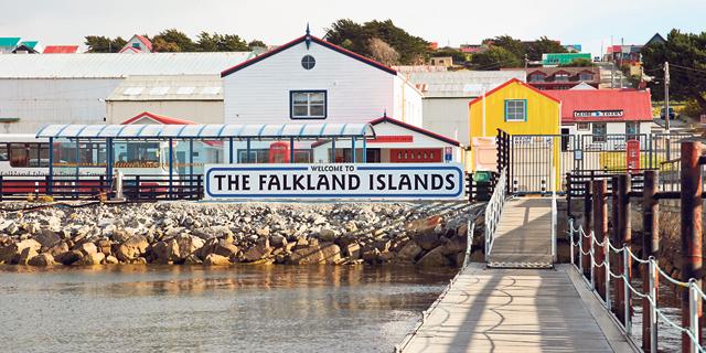 בירת איי פוקלנד, סטנלי. 3,000 תושבים בארכיפלג כולו, צילום: שאטרסטוק