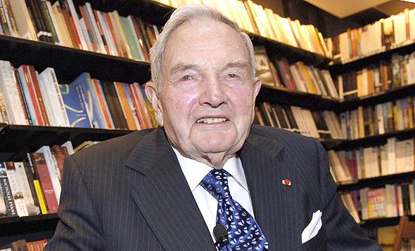 דיוויד רוקפלר. הלך לעולמו בן 101