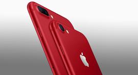 אייפון 7 אדום, צילום: אפל