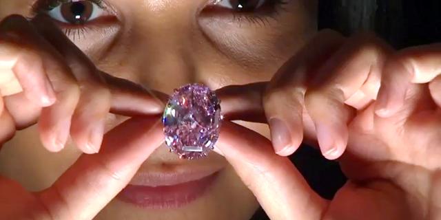 """הכירו את """"פינק סטאר"""" היהלום היקר בעולם, צילום: רויטרס"""