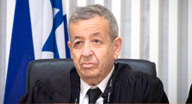 השופט בדימוס אליעזר ריבלין, צילום: מיקי אלון