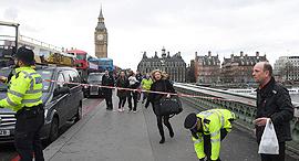 פיגוע דריסה מחוץ ל פרלמנט הבריטי לונדון 22.3.17, צילום: רויטרס