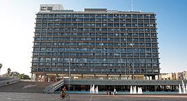 בניין עיריית תל אביב כיכר רבין, צילום: אוראל כהן