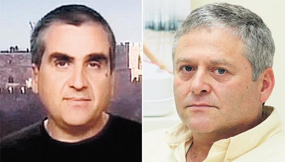 """ד""""ר אמיר ולדמן ופרופ' אריאל דרבסי, צילום: ערן יופי כהן"""