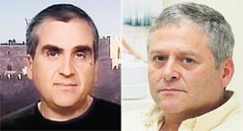 אמיר ולדמן ו פרופ אריאל דרבסי, צילום: ערן יופי כהן