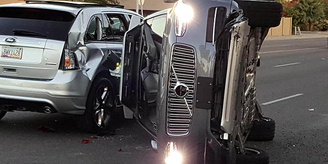 התאונה של אובר פגעה בדימוי הבטוח של וולוו