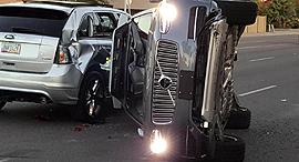 רכב אוטונומי אובר תאונה וולוו, צילום: רויטרס