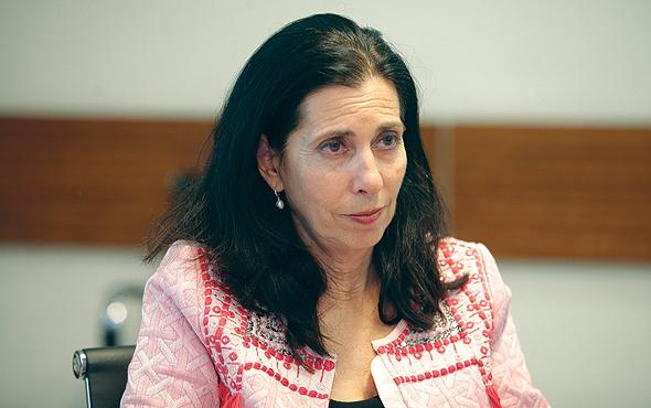 דורית סלינגר המפקחת על שוק ההון, צילום: אוראל כהן