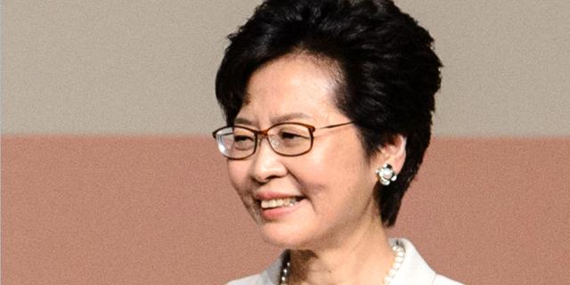 קורי לאם מושלת הונג קונג, צילום: איי אף פי