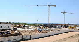 הבנייה באכזיב, צילום: נחום סגל