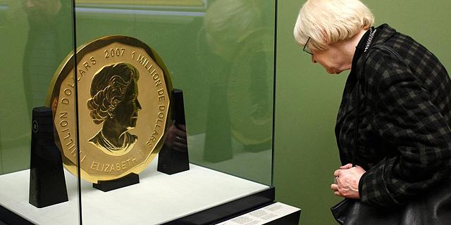 מטבע זהב טהור בשווי 4 מיליון דולר נגנב ממוזיאון בגרמניה