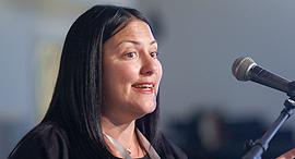 ועידת הצפון 28.3.17 הילה אוביל ברנר מייסדת ארגון יזמיות, צילום: עמית שעל