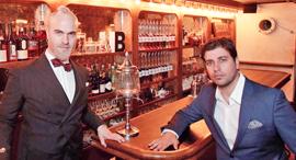 אבידן ולייזגולד, מקימי הבר, צילום: נמרוד גליקמן
