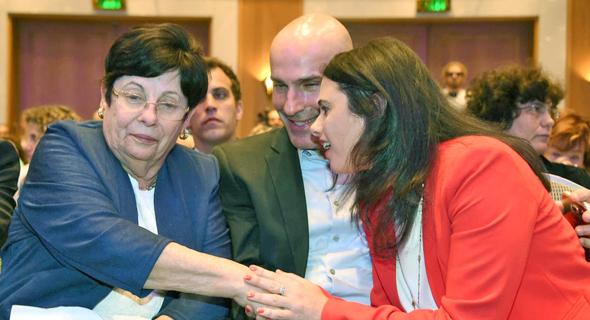 השרה איילת שקד ו הנשיאה מרים נאור, צילום: יאיר שגיא