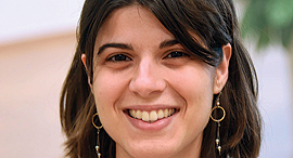 מגזין נשים 4.4.17 גדולות מהחיים קירה רדינסקי דוקטור מדענית ב טכניון  בעלי חברת SALESPREDICT, צילום: יאיר שגיא