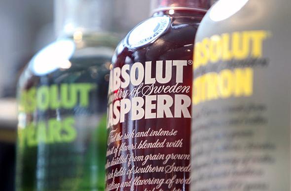 וודקה אבסולוט פרנו ריקארד אלכוהול בר, צילום: בלומברג