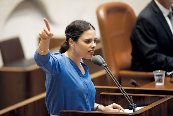 איילת שקד שרת המשפטים, צילום: יואב דודקביץ