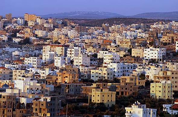 Arab city Tayibe. Photo: Gilad Kavalerchik