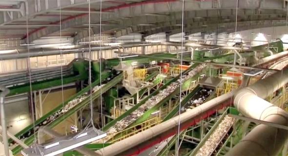 בחיריה נחנך מפעל לייצור דלק מאשפה