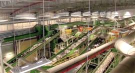 בחיריה נחנך מפעל ייצור דלק מזבל, צילום: רויטרס