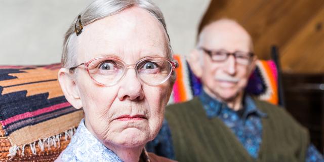 זיקנה פנסיה הורים מבוגרים, צילום: שאטרסטוק