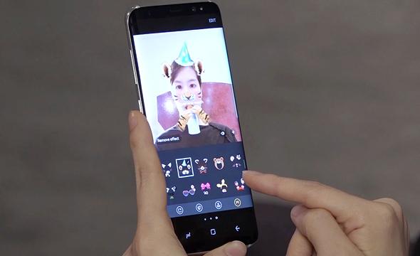סמסונג גלקסי S8 פילטרים סנאפצ'ט