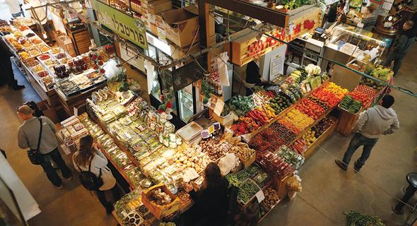 """שוק האיכרים בת""""א, צילום: עמית שעל"""