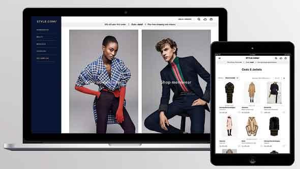 style.com. מתחרה בשחקנים הגדולים בשוק האופנה המקוון