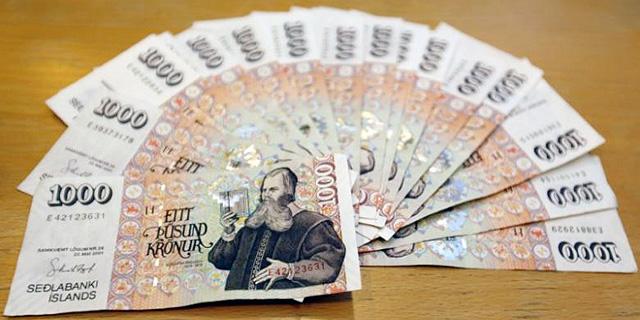 איסלנד רוצה לקבע את שער המטבע שלה ליורו