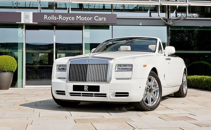 רולס רויס פנטום דרופהד קופה, צילום: rolls Royce