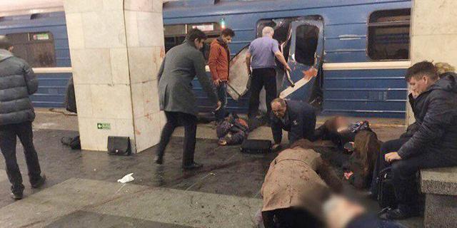 רוסיה: 10 נהרגו בפיצוץ במטרו של סנט פטרבורג
