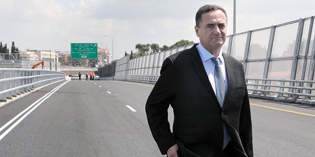 שר התחבורה ישראל כץ , צילום: גדעון מרקוביץ