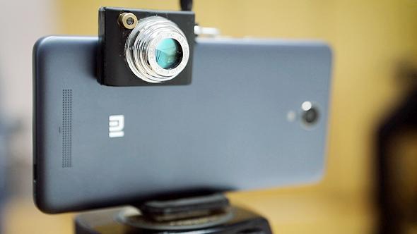 ContinUse Biometrics' camera. PHoto: Tal Azoulay