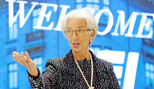 """כריסטין לגארד יו""""ר קרן המטבע הבינלאומית"""